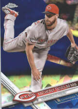 ANTHONY DESCLAFANI 2017 TOPPS CHROME SAPPHIRE EDITION #297 ONLY 250 MADE
