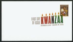 #5337 Kwanzaa, Digital Color FDC ANY 4=