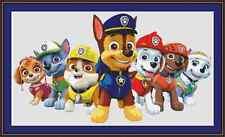 Paw Patrol 2 Cross Stitch Kit