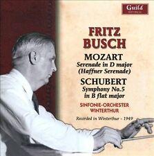 Busch Conducts Mozart & Schubert, New Music