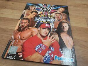 🌟WWE 2012 Annual Wrestling magazine Undertaker, Cena, Orton, Wrestlemania 27🌟