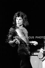 QUEEN BAND FREDDIE MERCURY BRIAN MAY RARE UNRELEASED 5 4X6 B&W CONCRT PHOTO PKG
