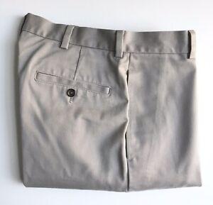 Brooks Brothers Chinos, Clark Slim Fit, 32 x 32, Khaki, Cotton, Exc Cond
