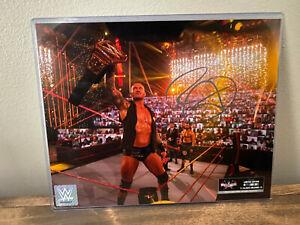 Randy Orton - 8x10 Wrestlmania Authentic Autographed Photo 25/37