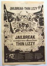 THIN LIZZY 1981 POSTER ADVERT JAILBREAK
