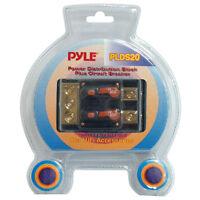 Dual 40 Amp In-Line Circuit Breaker/ Power distribution block