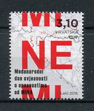 Croatia 2018 MNH International Mine Awareness Day 1v Set War Stamps
