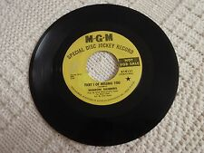 SHARON SANDERS  PART 1 OF MISSING YOU/LIQUID LOVE MGM 14131 PROMO