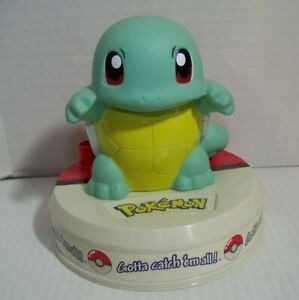 1998 Vtg Pokémon Squirtle Creatures Display Figure Game Freak Rare