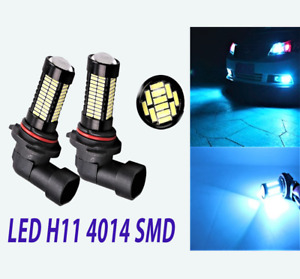 Blue H11 H8 4014 108 SMD Car Fog Light LED Daytime Running Light For Acura Honda