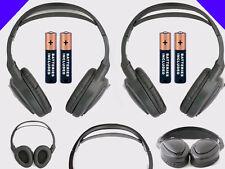 2 Wireless DVD Headsets for Dodge Grand Caravan : New Headphones w/ Comfort Band