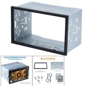 Metal Fascia Mounting Dash Kit for 2DIN Car Radio DVD Stereo Installation Frame