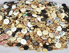 50 boutons à partir de diamètre à 18 mm - Coloré technique mixte - convoluté -