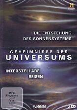 DOPPEL-DVD - Geheimnisse des Universums - Die Entstehung des Sonnensystems u.a.