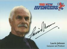 """The New Avengers : N-A10 Laurie Johnson """"Composer / Producer"""" Autograph Card"""
