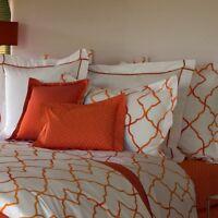 YVES DELORME JALI SAFRAN pillowcase taie d'oreiller standard sham 65 cm * 65 cm