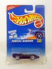 HOT WHEELS PONTIAC BANSHEE #457 Die-Cast Car MOC COMPLETE 1995