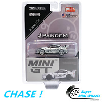 CHASE ! Mini GT 1:64 Pandem Toyota GR Supra V1.0 (Silver) #175