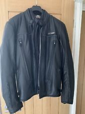 Harley Davidson Men's FXRG Water Resistant Leather Jacket, Small