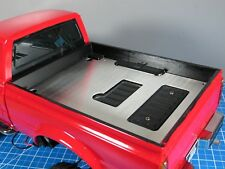 Aluminum Bed Liner Trunk Cover Plate Tamiya Toy RC Toy 1/10 Toyota Bruiser Hilux