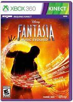 Disney Fantasia - Music Evolved (Microsoft Xbox 360 Kinect)  NEW Distressed Seal