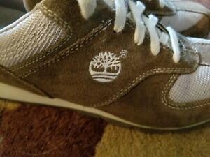 TIMBERLAND Genuine Leather Size 7M Women Hiking Athletic Sneaker Gentle Used