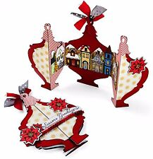 Sizzix Thinlits Ornament Fold-a-long Card 8-pk set #660667 Retail $19.99 J. Long