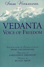 Vedanta : Voice of Freedom by Vivekananda (1990, Hardcover, Reprint)