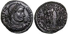 HIGH QUALITY RARE ROMAN Coin, VETRANIO, c.350 AD, FOLLIS, HOC SIGNO VICTOR ERIS+