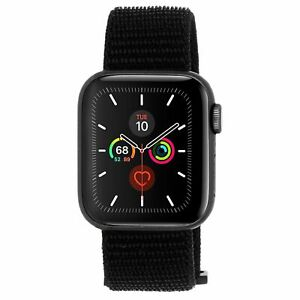 Case-Mate 42mm or 44mm Apple Watch Black Nylon Band