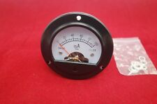 Dc 0 100ma Round Analog Ammeter Panel Current Dia 664mm Dh52 Direct Connect