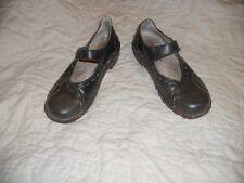 El Naturalista ~ Art to Wear ~ marrone scarpe stile Mary Jane 39
