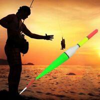 4x Fishing Luminous Float Batteriebetriebene LED DarkWater Nachtangeln Floa M3H1