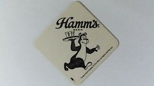 Hamm's Beer Coaster