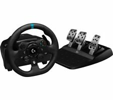 LOGITECH G923 Racing Wheel & Pedals - Xbox & PC, Black - Currys