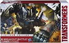 Transformers AOE Breakout Battle Optimus Prime Vehicon Rollbar Platinum Edition