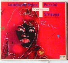 LEONTYNE PRICE (2CD) PUCCINI - STRAUSS - OPERAS ARIAS & LIEDER - NEUF SCELLE