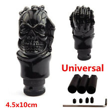 Universal Black Skull Head Car Truck Manual Stick Gear Shift Knob Lever Shifter