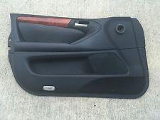 LEXUS GS300 GS430 GS400 OEM DRIVER LEFT FRONT DOOR PANEL 98-05 BLACK W/ TRIM