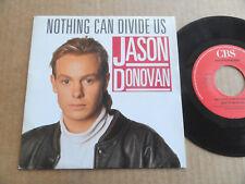 "DISQUE 45T DE JASON DONOVAN   "" NOTHING CAN DIVIDE US """