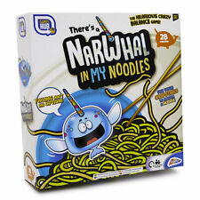 Theres a Narwhal In My Noodles Fun Family Chopstick Skill & Balance Game