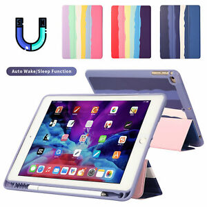 Smart Case for iPad 8 7 6 5th Generation Air 4 Pro 11 2020 Full Rainbow Cover