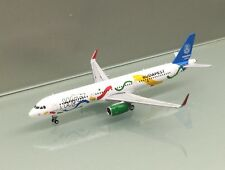 JC Wings 1/400 Wizz Air Airbus A321-200 HA-LXJ Budapest 2024 metal miniature
