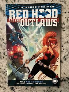 Red Hood & The Outlaws V 2 Who Is Artemis DC Comics TPB Graphic Novel Book J587