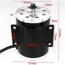 1800W 48V Brushless Electric Motor for ATV GoKart Scooter Parts Buggy Quad Bikes