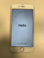 Faulty Apple iPhone 7 - 32GB Silver (Unlocked) Cracked Broken Screen Smartphone