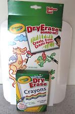 Crayola Dry Erase Board And Crayon Set