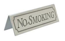 Acier inoxydable no smoking SIGNE Table Signes Tableau Barre Pub Restaurant Café