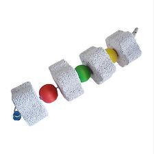 Rabbit Bird Pet Hamster Chinchilla Teeth Chew Grinding Stone String Toy Tempting