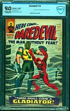 Daredevil #18 CBCS VF/NM 9.0 Off White to White Marvel Comics